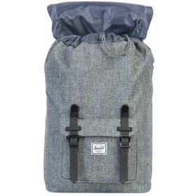 Herschel Little America Mid-Volume Backpack 17L, raven crosshatch